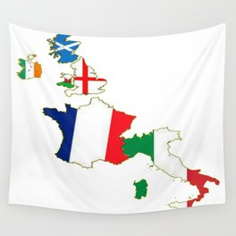 Six Nations Championship Wall Tapestry