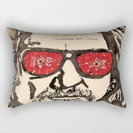 """The Dude Abides"" featuring The Big Lebowski Rectangular Pillow"
