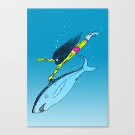 Shark Yeah Canvas Print