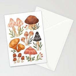 Mushrooms~no.2 Stationery Cards
