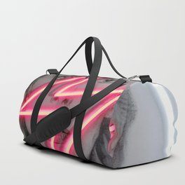 tunder neon bowie Duffle Bag