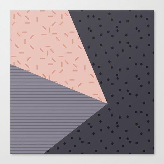 Geometry Blocks 8 Canvas Print