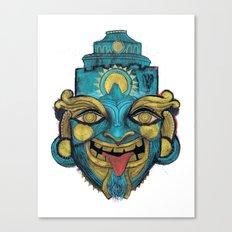Morpho Mask Canvas Print