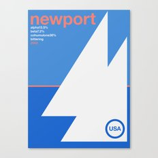 newport single hop Canvas Print