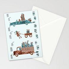 Present Transportation Stationery Cards