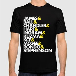 Lakers Roster T-shirt