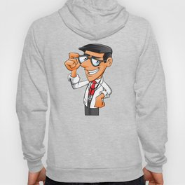 Young Doctor with glasses  Hoody