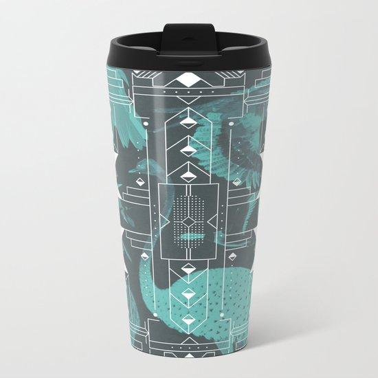 Eumaniraptora Metal Travel Mug