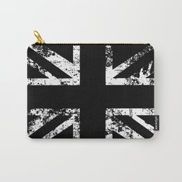United Kingdom Black Flag Carry-All Pouch