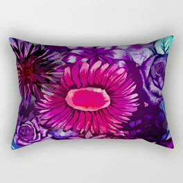 Floral Delights Rectangular Pillow