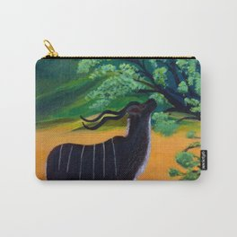 Kudu Landscape Acrylic Carry-All Pouch