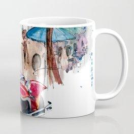 Red retro car Coffee Mug