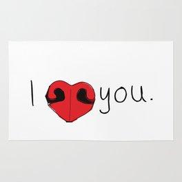 I Love You Rug