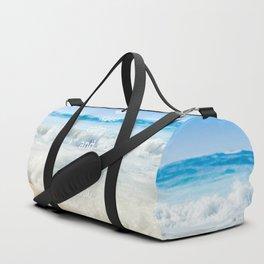 keep calm and live Aloha Duffle Bag