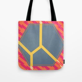 To Bee or Not - pink/orange graphic Tote Bag