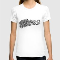 crocodile T-shirts featuring crocodile by bloodpurple