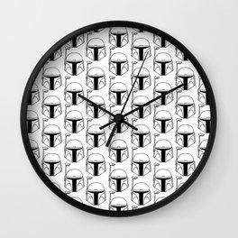 Black Bucket Wall Clock