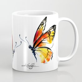 Monarch No. 3 by Kathy Morton Stanion Coffee Mug