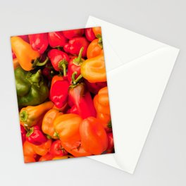 Kitchen Still Life: Hot Peppers Stationery Cards