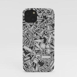 Toolbox DIY Tools Pattern iPhone Case