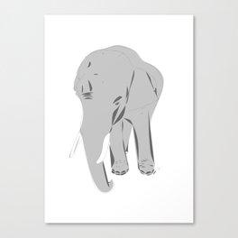 Thailand Elephant Canvas Print