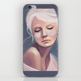 Her Cheeks Glowed with the Constellations of Lovers iPhone Skin