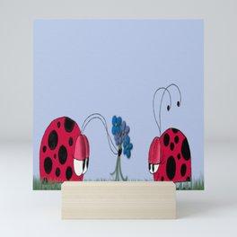 Flowers For My Love Mini Art Print