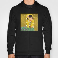 The Kiss (Lovers) by Gustav Klimt  Hoody