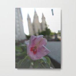 Salt Lake Temple Metal Print