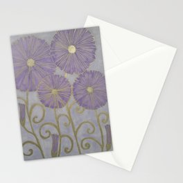 Fiori viola Stationery Cards