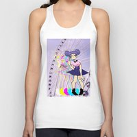 ferris wheel Tank Tops featuring Ferris Wheel by Aleksander Cacic