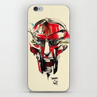 doom iPhone & iPod Skins featuring DOOM by chuma hill