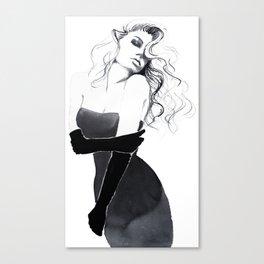 'Gloves'  Illustration Canvas Print