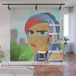 Cute-anger Wall Mural
