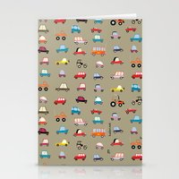 cars Stationery Cards featuring Cars by ilusland .:. marcelo BAdARI