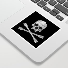 Jolly Roger Banner Sticker