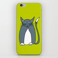 Pussy cat Pussy cat, I love you! iPhone & iPod Skin