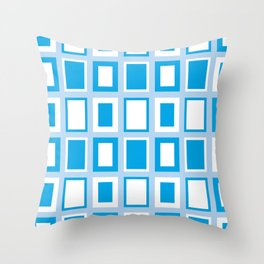 Lil Monsters - pattern 1 Throw Pillow