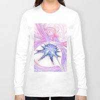 seashell Long Sleeve T-shirts featuring seashell by haroulita