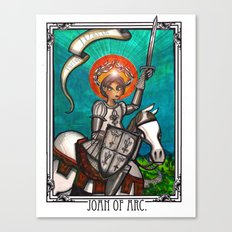 Joan of Arc Canvas Print