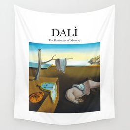 Dalì - The Persistence of Memory Wall Tapestry