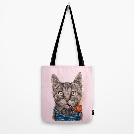 Sailor Cat IX Tote Bag