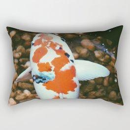 Coy Fish Rectangular Pillow