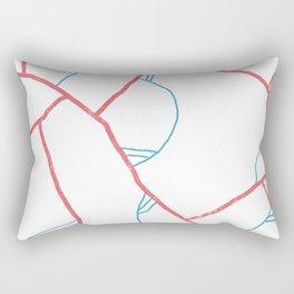 veins & arteries Rectangular Pillow
