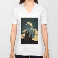 bane V-neck T-shirts featuring Bane  by Edmond Lim