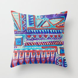 Rule of Threes Throw Pillow