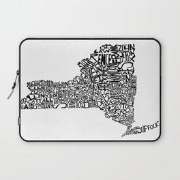 Typographic New York Laptop Sleeve