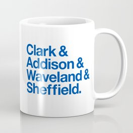 Clark & Addison & Waveland & Sheffield Coffee Mug