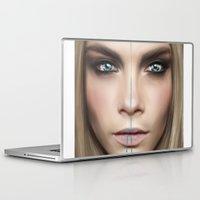 cara Laptop & iPad Skins featuring Cara by Anna Sun