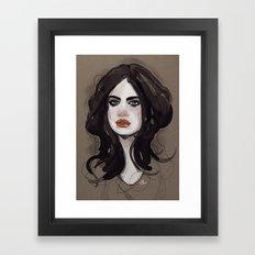 Mess. Framed Art Print